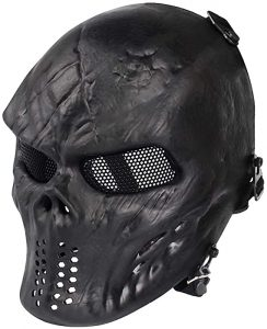 Wo-Sport Airsoft Paintball skull Mask