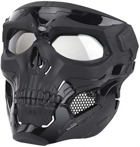 Tactical Protective Skull Full Face Mask