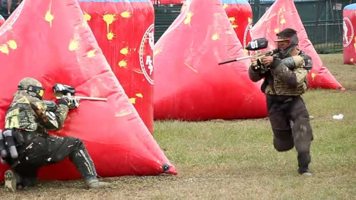 does paintball hurt