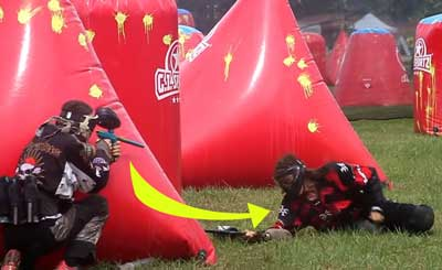 how bad does paintball hurt